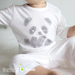 Mild bamboo solsol panda 7 pieces Underwear Set (6 ~ 24 months)