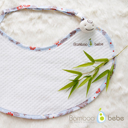 Mild bamboo <br> Weed mom mother bib _Ezur Cosmos