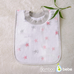 Bamboo Baby Easy Bib_Star