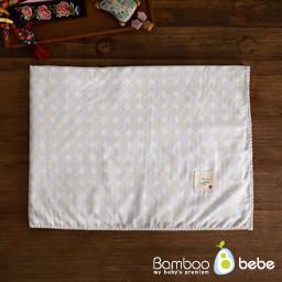 Bul-A Bul-A Gauze Blanket_Lucky charm pattern