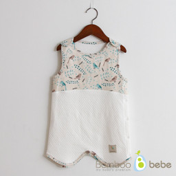 Mild bamboo sleeping vest _ Little Tweat