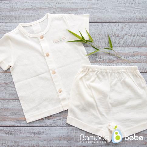 Mild bamboo soles <br> Short Sleeve Underwear