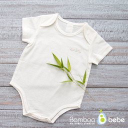 Mild Bamboo Brush <br> Newborn bodysuit