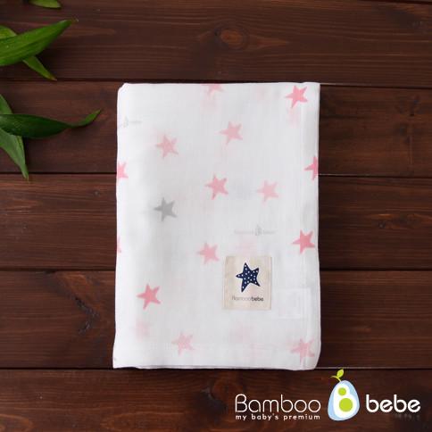 Mild bamboo gauze blanket _ Twinkle