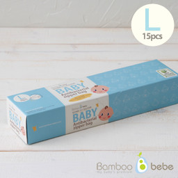 Baby Antibacterial Zipper Bag (bottom type) <br> L_15