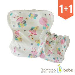 <font color=#d2446c><b>[1 + 1 Event]</b></font> <br> [Old Version] Shurum Waterproof Diapers Cover_ Laura Princess