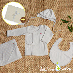 Mild Bamboo Dandong Gift Set 5 kinds _ Gil Sang Moon <br> <font color=#d2446c><b>[Remembrance Pouch Gift _ Color Random]</b></font>