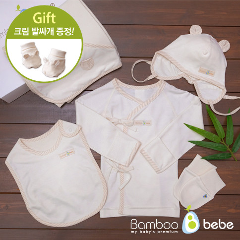 Pure Bamboo CreamGift Set 5 <br> <font color=#d2446c><b>[Cream presentation]</b></font>