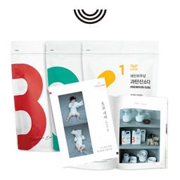 [Rainbow Shop] Baby Book Three Musketeers <br> Premium Euro Set (500g)