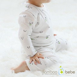 Set of 10 copies of mild bamboo all day long (6 to 24 months) <br> <b>(White / Beige)</b>
