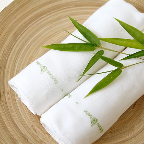 Bamboo Gauze Handkerchief 5pcs set