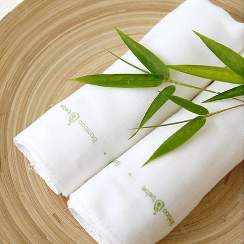 Bamboo Gauze Handkerchief 10pcs set