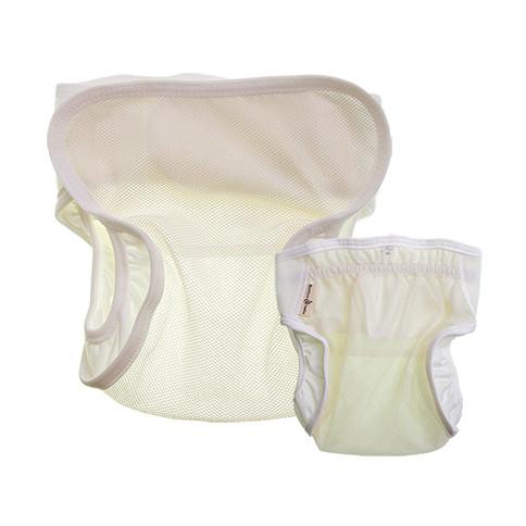 Airy Mesh Diaper Cover (Natural)