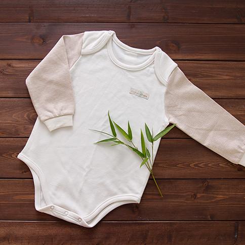 Bamboo Four Season Newborn Baby Bodysuit